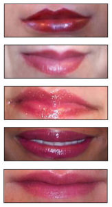 Different Full Lip Color Permanent Cosmetic Maskeup